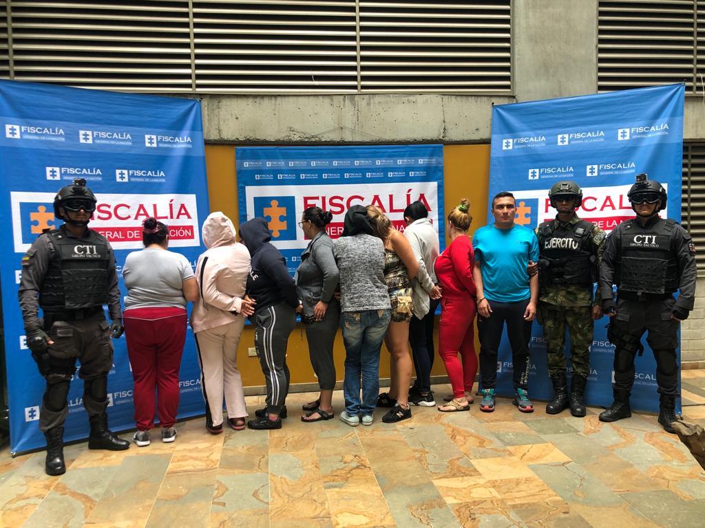 180 capturados por microtráfico y homicidio en Medellín