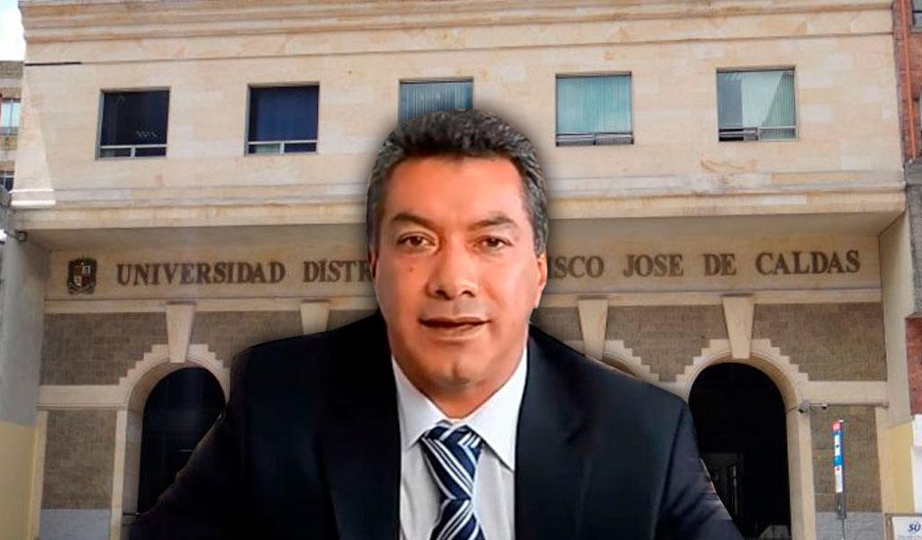 Wilman Muñoz aceptó haber robado plata de la U. Distrital
