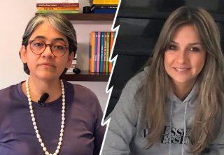 Fuerte discusión entre Yolanda Ruiz y Vicky Dávila