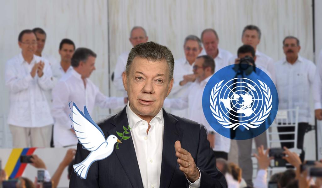 Santos, Acuerdos de Paz