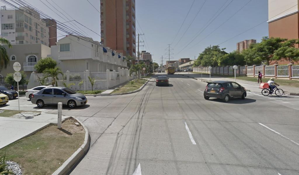 Carro fantasma mató a un hombre en Barranquilla