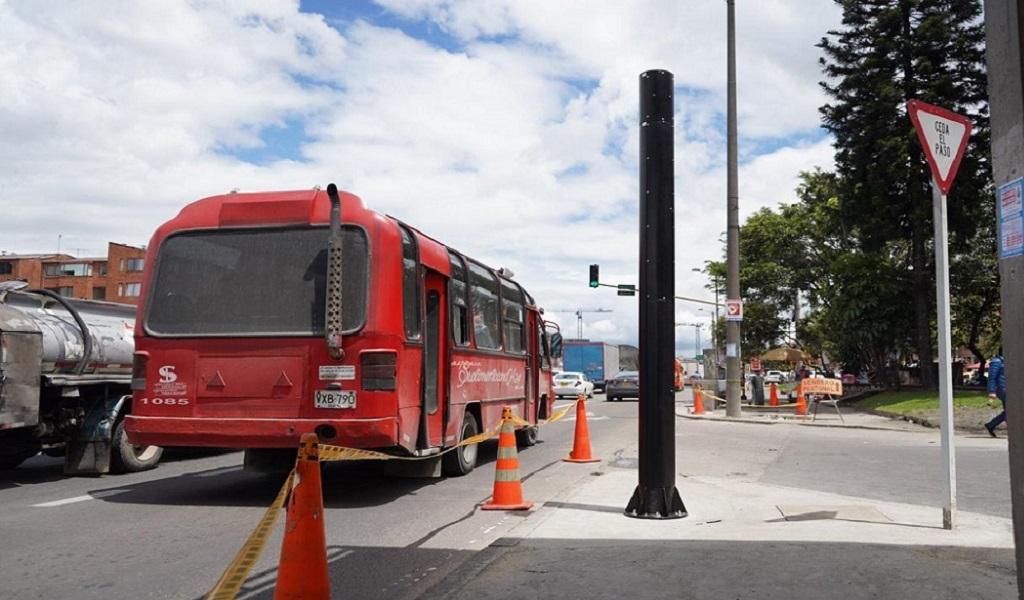 Salvavidas, tránsito, vías, Bogotá