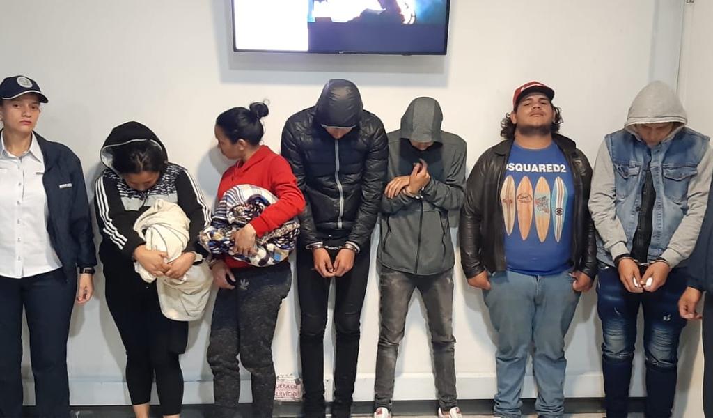 Seis extranjeros expulsados de Colombia