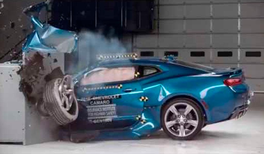Conozca cómo se realizan las pruebas de choque en carros