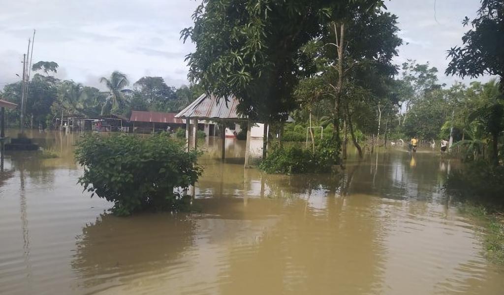 Más de 40 familias afectadas por inundaciones en Chigorodó