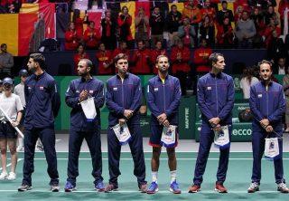 Derrota de Giraldo en debut de la Copa Davis