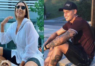 ¿Daniela Ospina está cuidando a James Rodríguez?