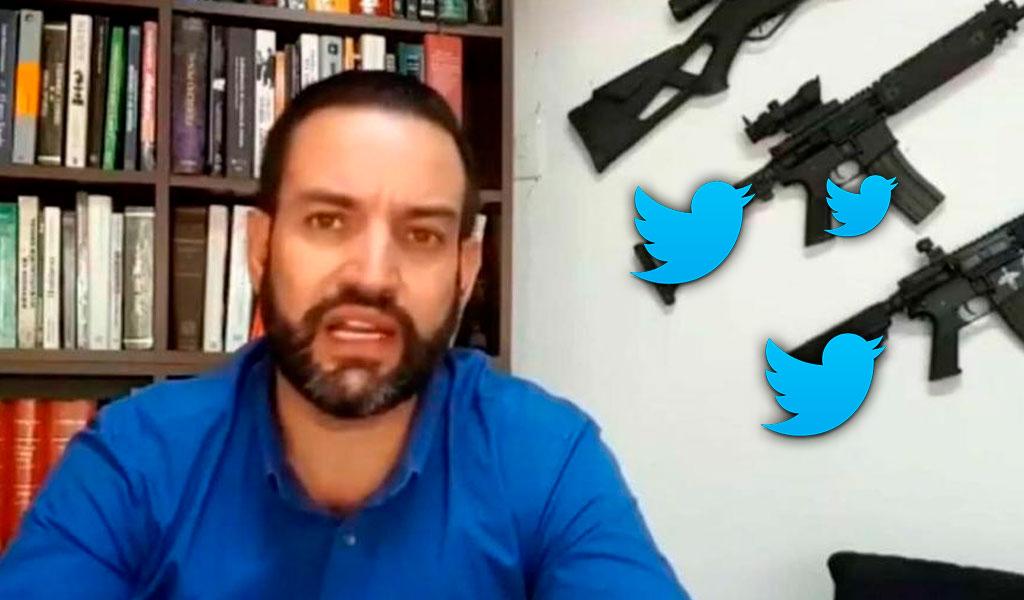 Le restringen la cuenta de Twitter a 'El patriota'