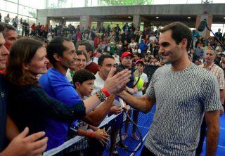 El especial regalo que pidió Federer en Bogotá