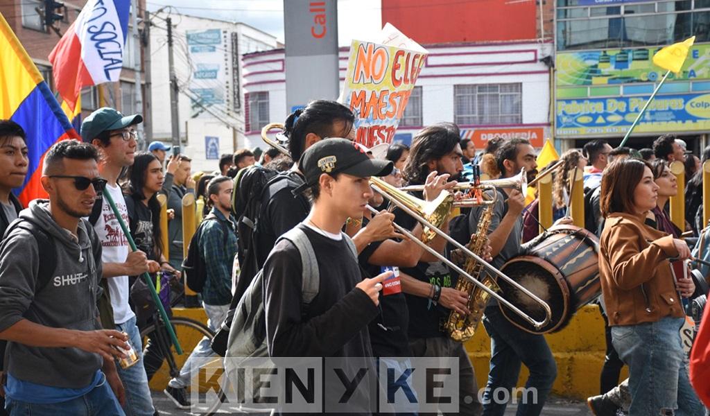 Marchas, protestas, paro nacional, jovenes, diversos, Colombia