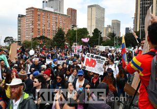 Los puntos de concentración en Bogotá para este 21E