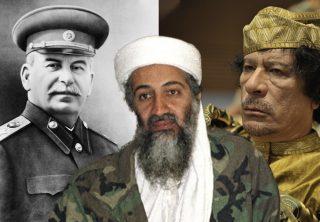 Los hijos y nietos de los líderes más infames de la historia