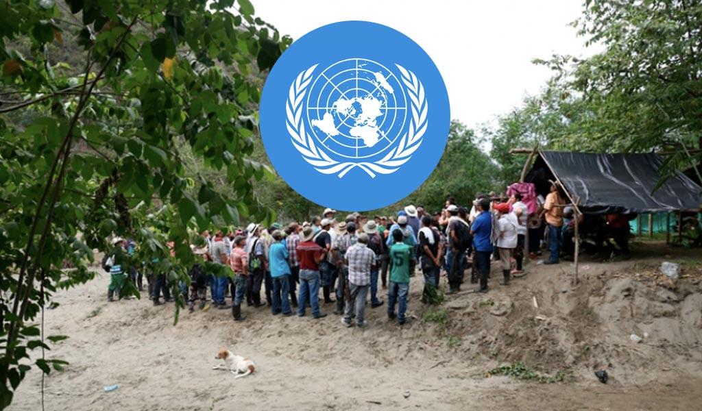 ONU rechazó recrudecimiento de la violencia en el Cauca