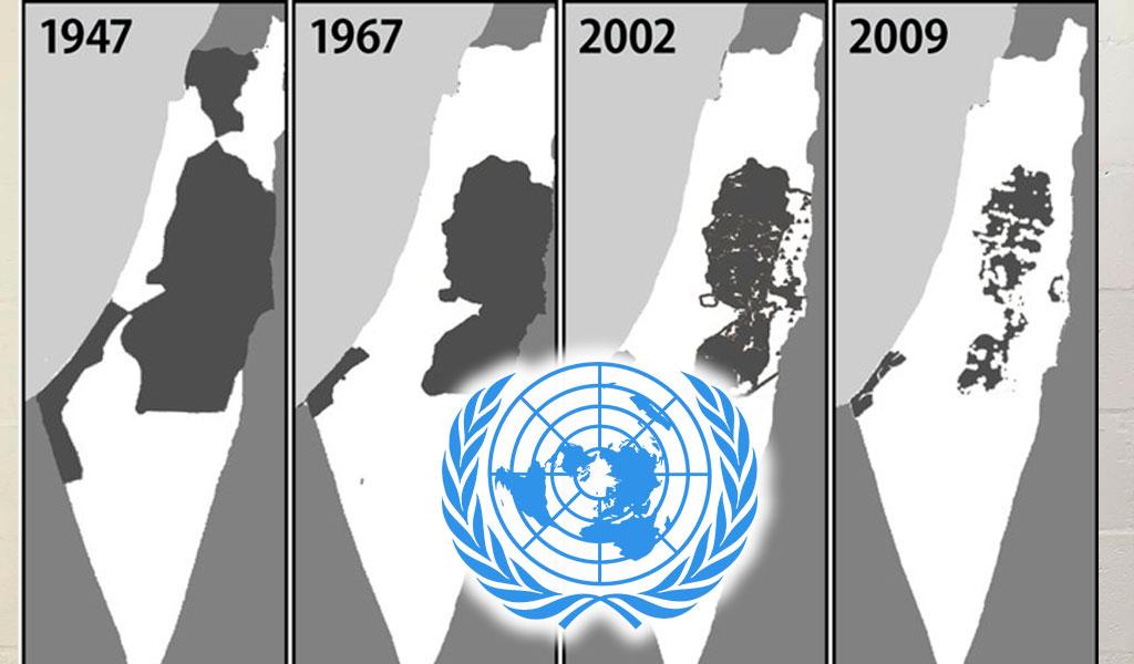 Palestina, Israel, guerra, partición