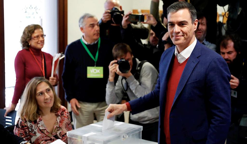 Pedro Sánchez gana de nuevo las elecciones en España