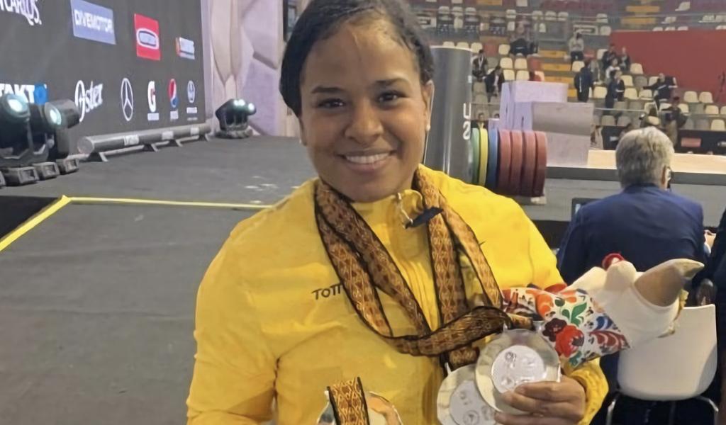 Mercedes Pérez obtuvo medalla de plata en el Gran Prix Lima