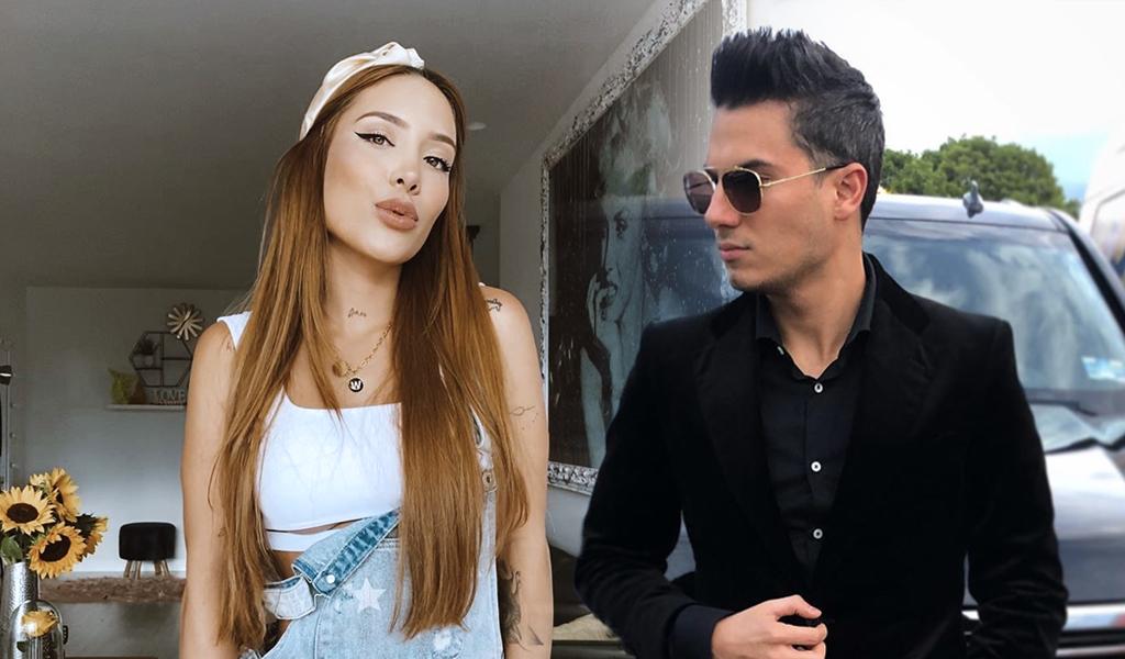 Romántico beso entre Pipe Bueno y Luisa Fernanda W