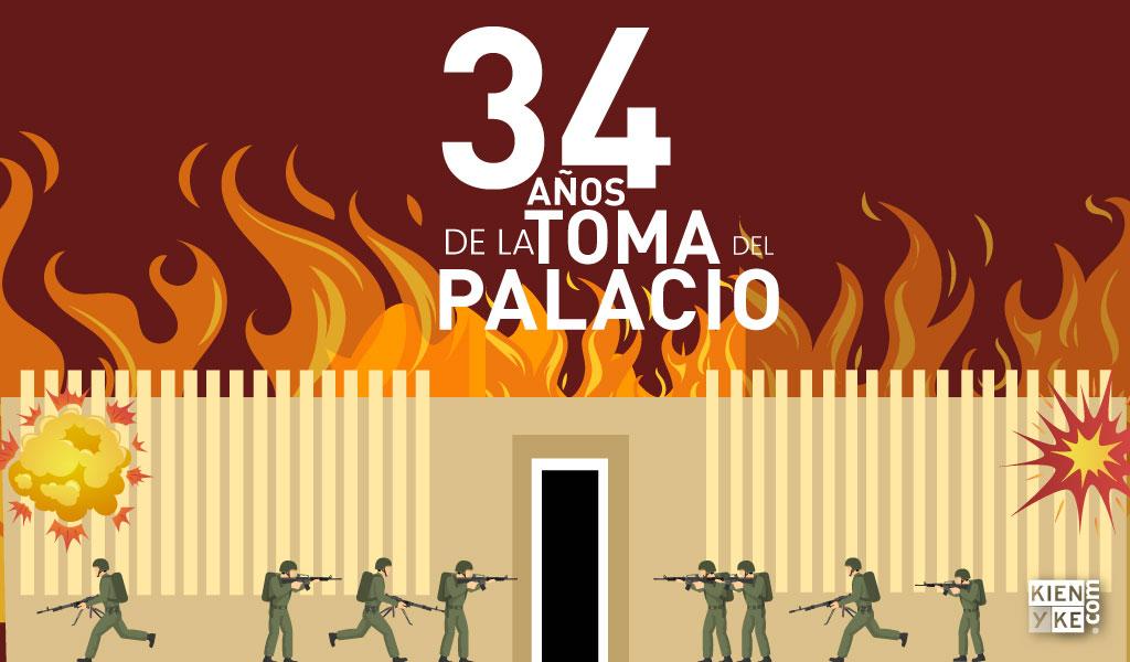 34 años de la toma del palacio