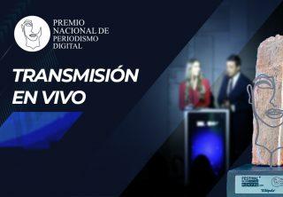 Siga en vivo la entrega del Premio Nacional de Periodismo Digital