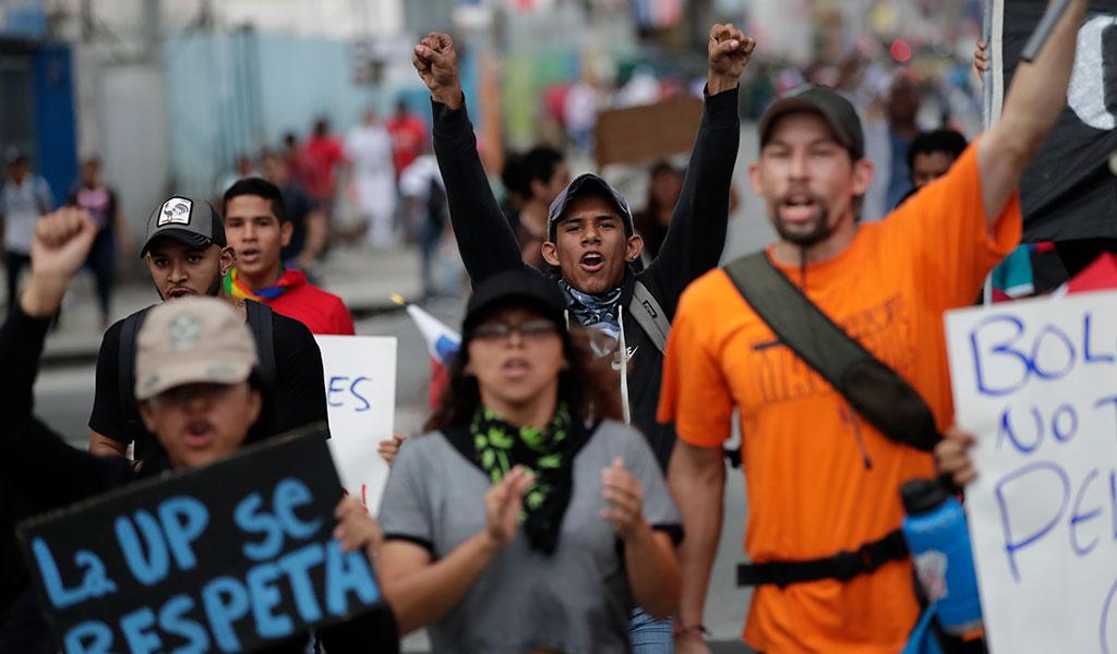 ¿Por qué protestan varios sectores en Panamá?