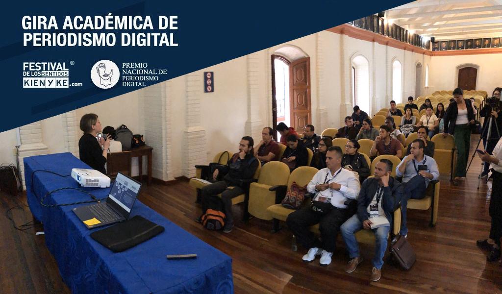 Popayán disfrutó del último taller de periodismo digital del año