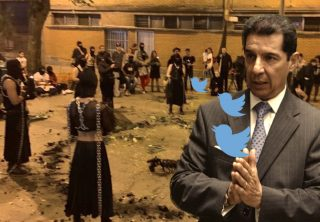 """""""Ritual satánico"""" que denunció Lafaurie desata burlas en redes"""