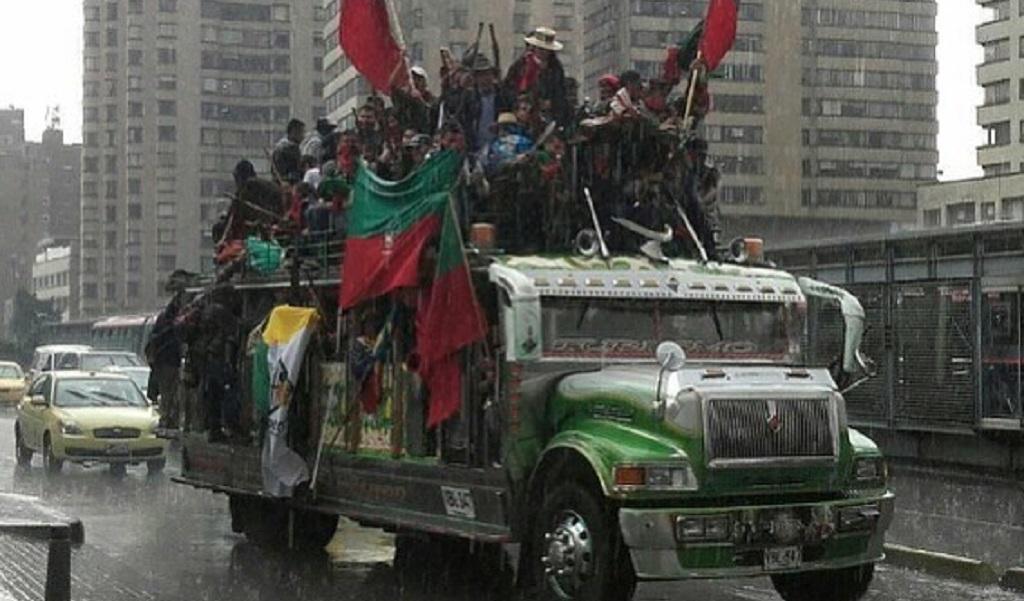 Indígenas y estudiantes marchan este 29N
