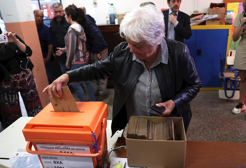 Así avanza la jornada electoral en Uruguay