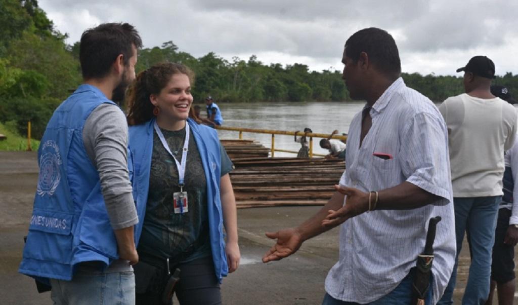 Paz en Colombia, desde el ojo de una voluntaria de la ONU