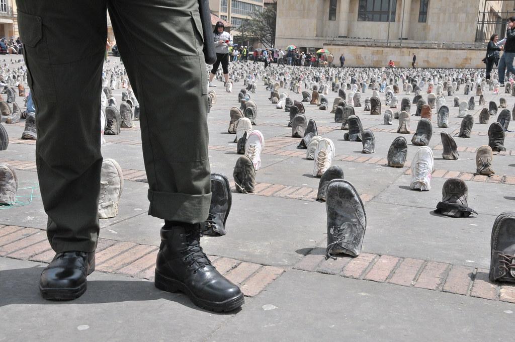 Víctimas de minas antipersonal reivindican sus derechos