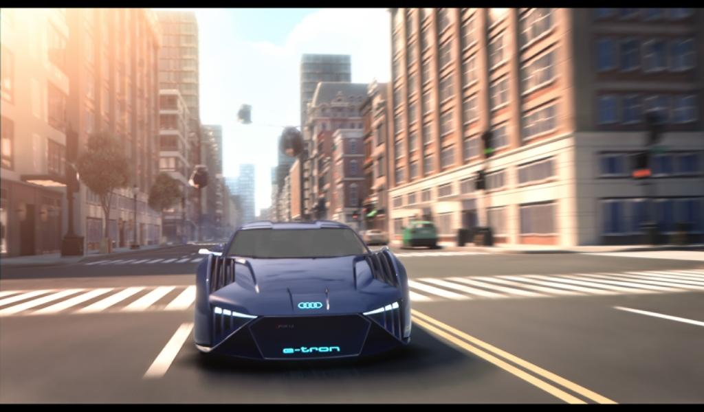 El Audi que debutó en cines