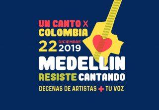 Ya hay fecha para un 'Un Canto por Colombia' en Medellín