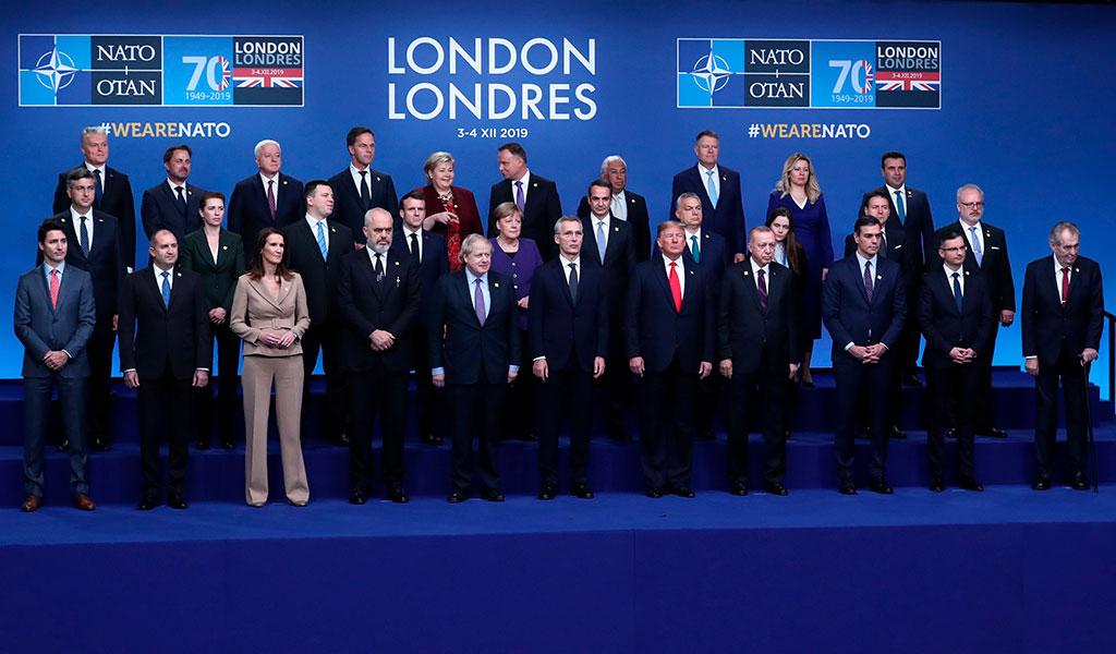 Inicia cumbre de la OTAN en Londres