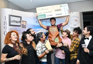 Ganadores del Sustainable Cocktail Challenge
