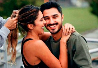 La historia de amor de Daniela Ospina y Harold Jiménez