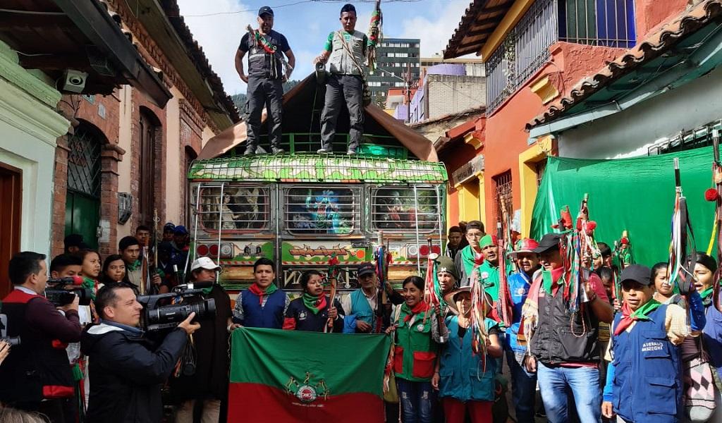 Guardia indígena protagonizará un cacerolazo en el Park Way