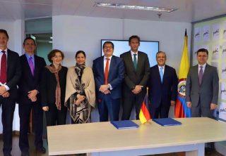 Alemania le dona 11 millones de euros a Colombia
