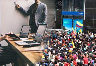 Trabajadores colombianos optimistas frente al empleo