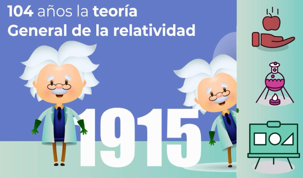 104 años la teoría General de la relatividad