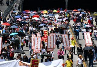 Este lunes habrá nuevas manifestaciones en el país