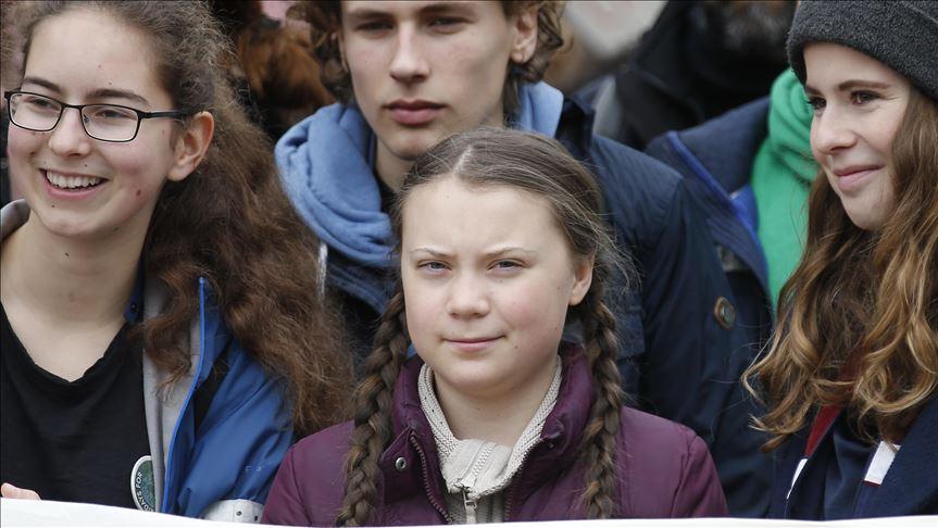 Greta Thunberg lidera protestas masivas en Madrid