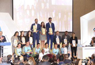 Premiación al deportista del año 2019