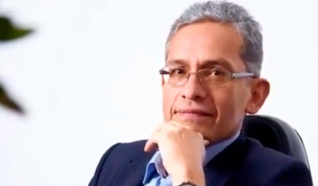 Juan M. Ramírez, secretario de Hacienda de Bogotá