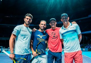 Cabal y Farah vs. Bob y Mike Bryan en el Movistar