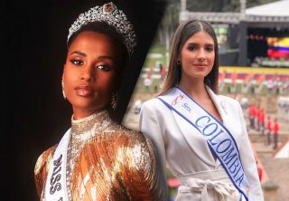 Nueva Miss Universo habla de Miss Colombia