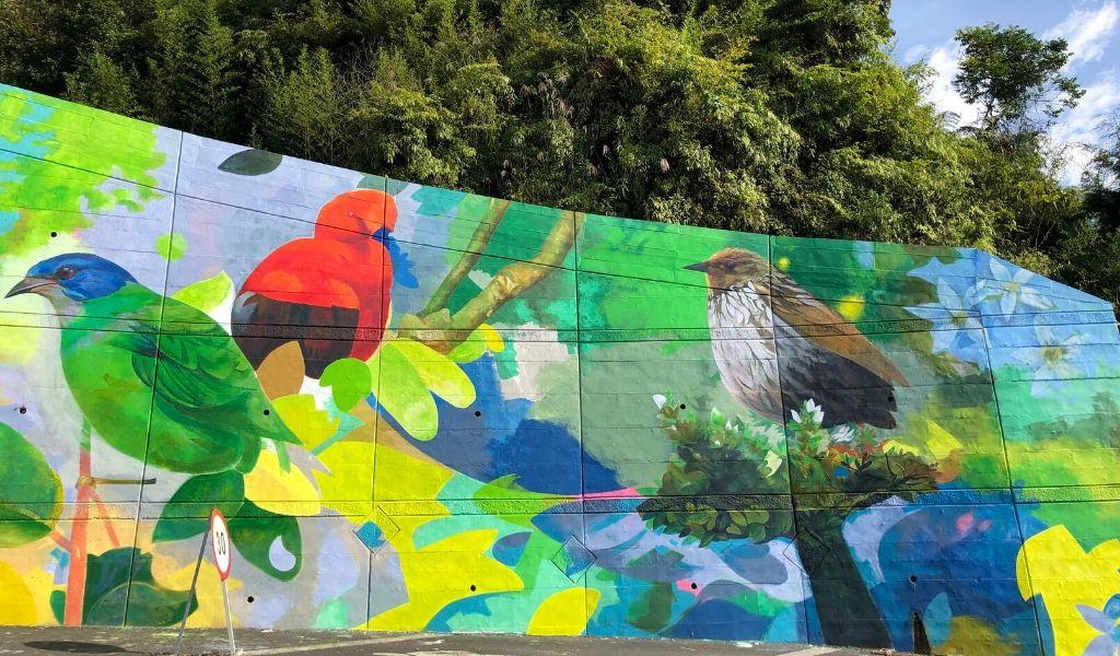 El mural más grande del Eje Cafetero está en Risaralda