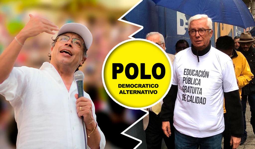 Petro, Robledo y una discusión por el Polo Democrático