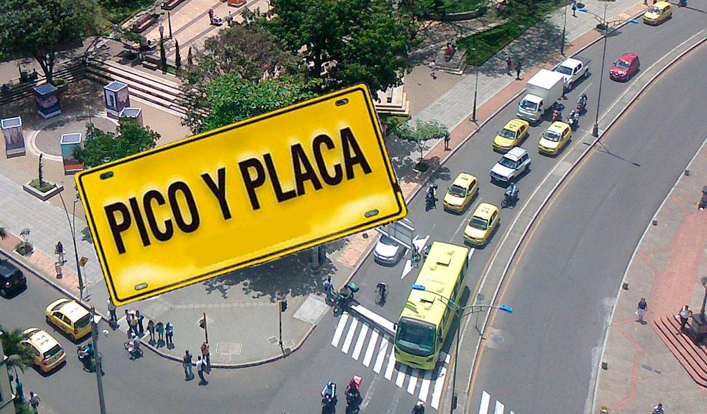 Así funcionará el pico y placa en Bucaramanga