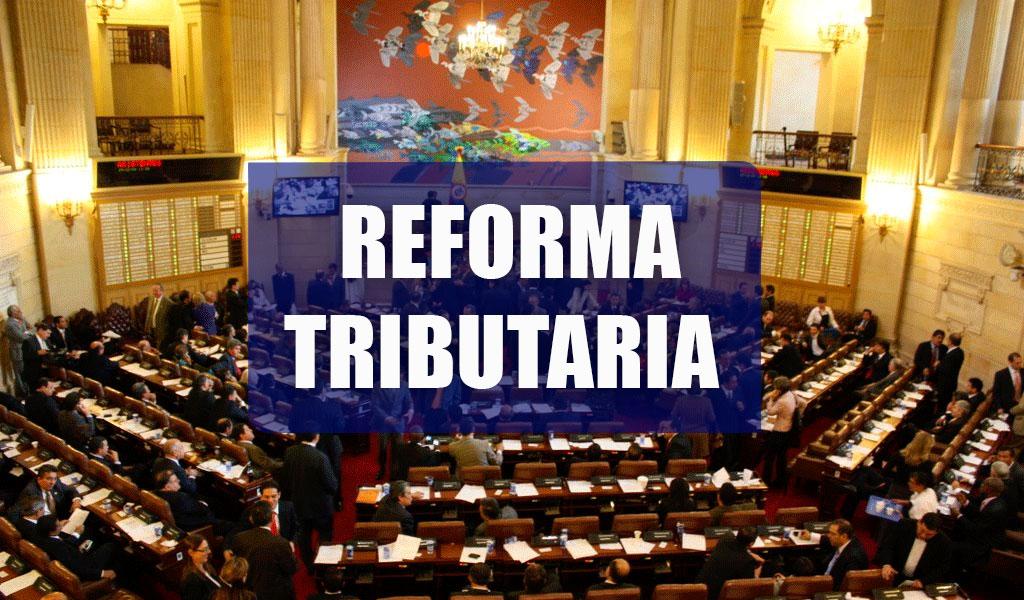 Congreso aprobó en primer debate reforma tributaria