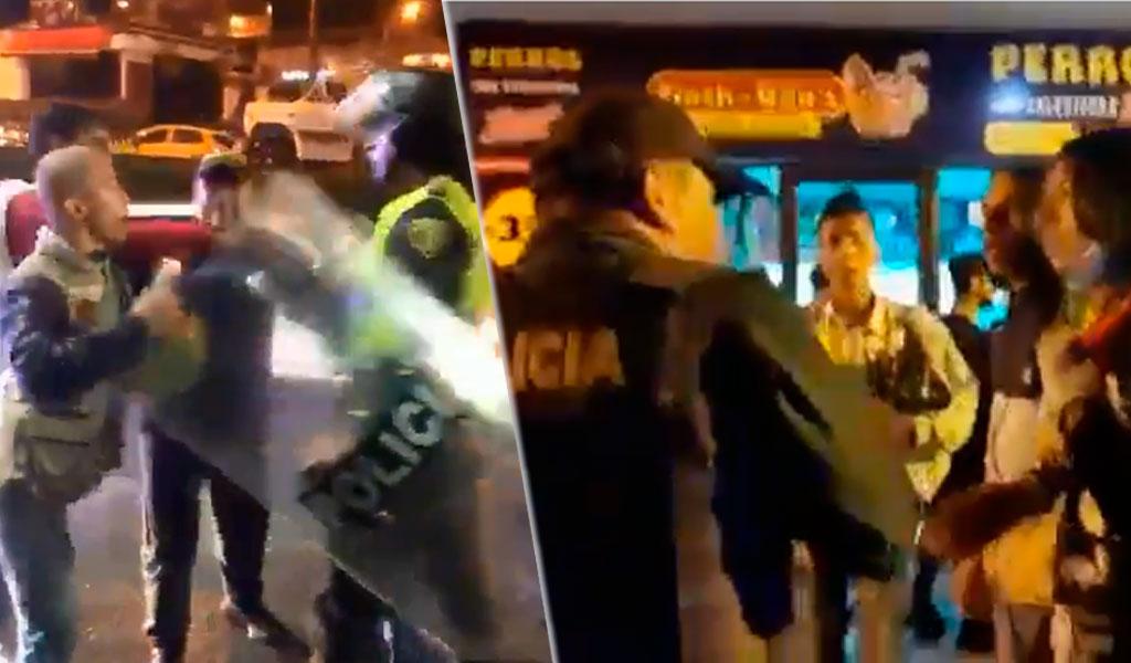 Manifestaciones en Pereira terminaron en enfrentamientos